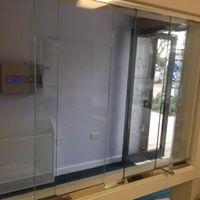 office glass hatch