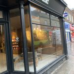 New glass shopfront isle of wight