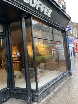 New glass shopfront isle of wight