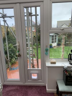 Cat Flap Fitted IOW