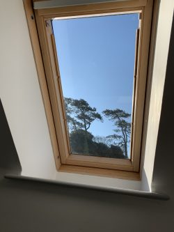 Velux roof glass replaced